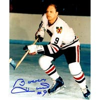 Bobby Hull Chicago Blackhawks In Game Skating 8x10 Photo