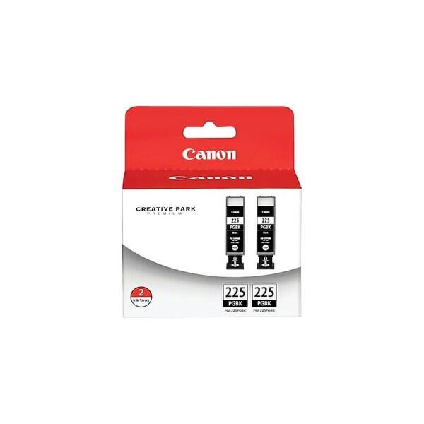 Canon PGI-225 Ink Cartridge 2-pack INK CARTRIDGE PGI-225 BLACK TWIN PK