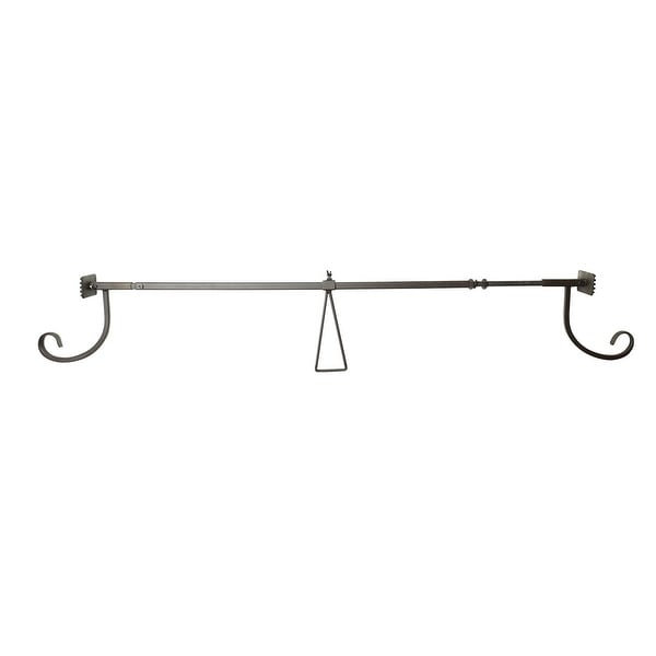 "Adjustable EZ Christmas Garland Hanger for Single Doors 34"" - 52"""