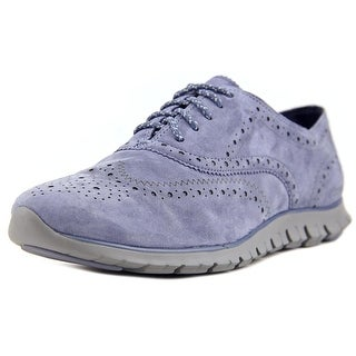 Cole Haan Zerogrand Wingtip Oxford Round Toe Leather Oxford