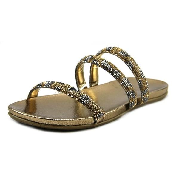 Kenneth Cole Reaction Slim Shotz Women Open Toe Synthetic Slides Sandal