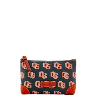 Dooney & Bourke NCAA Oregon State Cosmetic Case (Introduced by Dooney & Bourke at $48 in Dec 2015) - Black