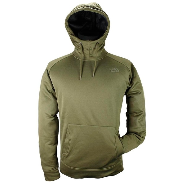 The North Face Men Advection Hoodie Basic Jacket Burnt Olive Green