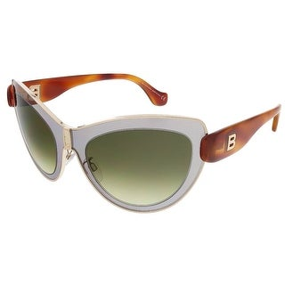 Balenciaga BA0001S 20P Light Grey/Blonde Havana Cat Eye sunglasses