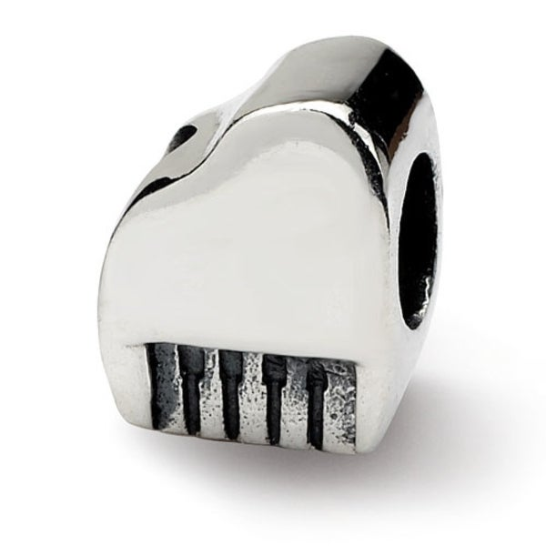 Sterling Silver Reflections Piano Bead (4mm Diameter Hole)
