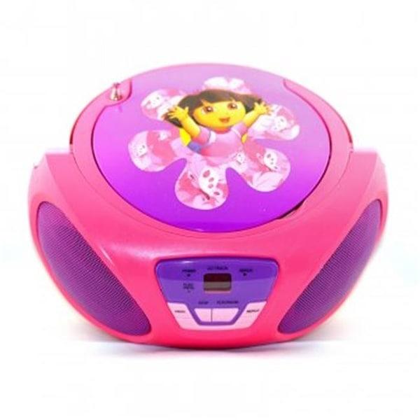 Dora The Explorer 56067 CD Player Boombox