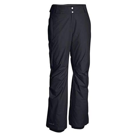 Columbia Women's Plus Size Bugaboo II Pant, Black, 1X Regular