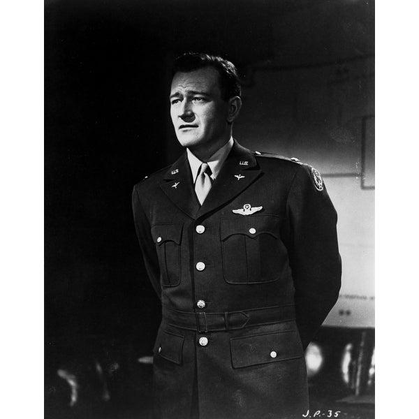 1b3aeca03bf4f John Wayne uniform Photo Print