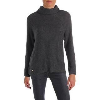1411ef7300814 Quick View.  40.92. Lauren Ralph Lauren Womens Turtleneck Sweater Knit  Pullover · Quick View