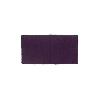 Tough-1 Saddle Blanket 4lb Solid Color Heavy Tight Weave Wool 35-17864