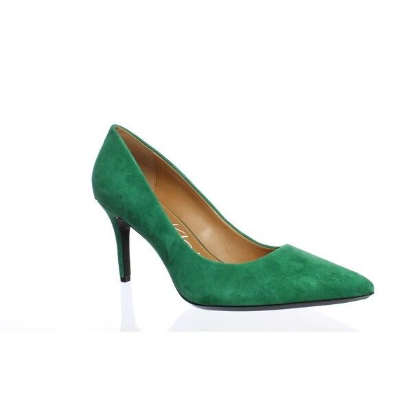 31c002fd85 Shop Calvin Klein Womens Gayle Grass Green Pumps Size 8.5 - Free ...