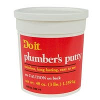 William H. Harvey 3Lb Plumbers Putty 043057 Unit: EACH