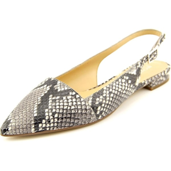 Michael Michael Kors Claudia Flat Women Pointed Toe Leather Multi Color Flats