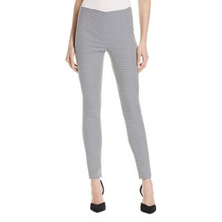 Theory Womens Navalane Casual Pants Pattern Casual