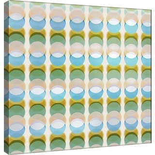 """PTM Images 9-101083  PTM Canvas Collection 12"""" x 12"""" - """"Transitions P"""" Giclee Abstract Art Print on Canvas"""