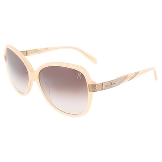 Guess by Marciano GM0696 BLSH-52 Blush Square sunglasses