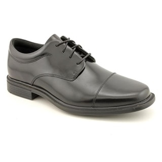 Rockport Ellingwood Men Round Toe Leather Black Oxford