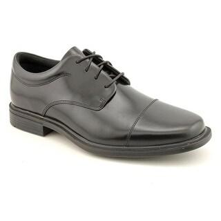 Rockport Ellingwood Men Round Toe Leather Black Oxford
