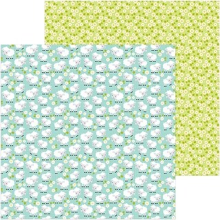 """Down On The Farm Double-Sided Cardstock 12""""X12""""-Counting Sheep"""