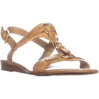 Franco Sarto Gili Buckled Flat Sandals, Camelot - 8.5 us / 38.5 eu