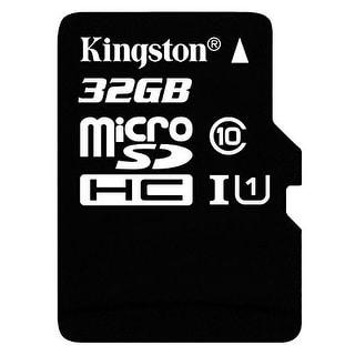 Kingston Memory Sdc10g2/32Gb 32G Microsdhc Cl10 G2 Uhs-I Read Card+Sd Adapter