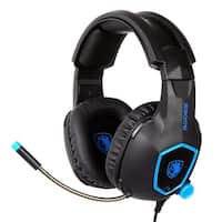 Sades SA818 Stereo Bass Gaming Headsets Headphones for PS4 NewXbox One PC with Mic