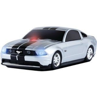 Road Mice 3-Button Road Mice Ford Mustang GT 2.4GHz Wireless Optical Scroll Mouse w/Nano USB Receiver