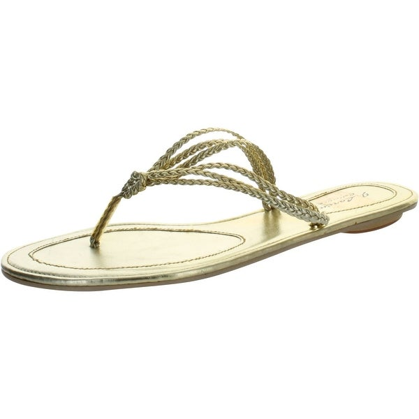 Mr. Lorens Womens Fashion Flip Flop Sandals