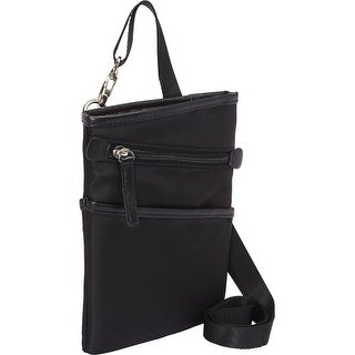 WIB FWC7BKDALLAS WIB Dallas Carrying Case for up-to 7 Tablet, eReader - Black - Twill Polyester - Shoulder Strap