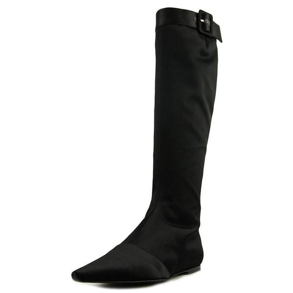 Roger Vivier Stivale Tacco 05 Liscio Women Synthetic Black Mid Calf Boot