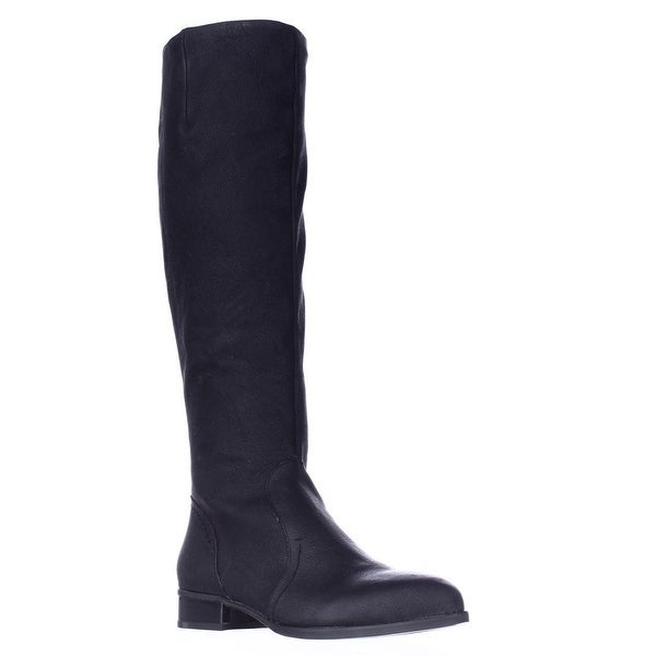 Nine West Nicolah Tall Riding Boots, Black