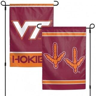 Virginia Tech Hokies Flag 12x18 Garden Style 2 Sided