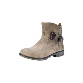 Muk Luks Boots Womens Hayden Ankle Shortie Water Resistant