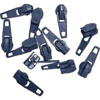 Make-A-Zipper Spare Pulls-Navy