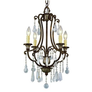 Trans Globe Lighting 3964 Crystal Four Light Up Lighting Mini Chandelier from the Crystal Flair Collection  sc 1 st  Overstock.com & Buy Trans Globe Lighting Ceiling Lights Online at Overstock.com ...