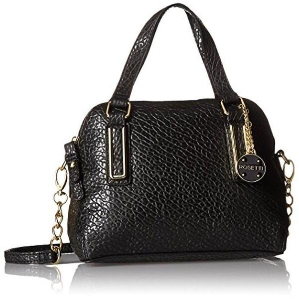 Rosetti Womens Micro Polly Crossbody Handbag Textured Faux Leather - MEDIUM