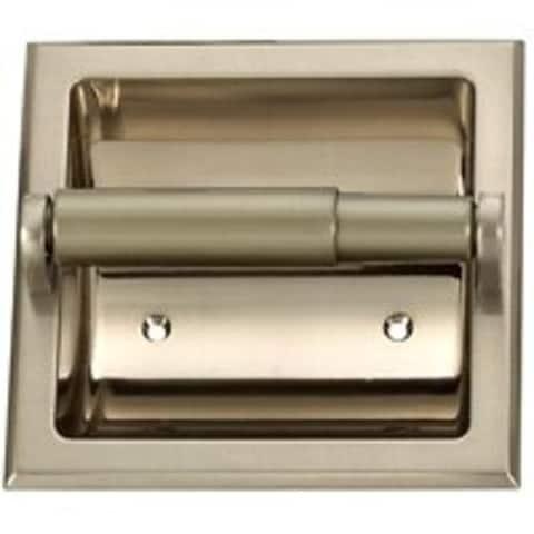 Mintcraft 776H-07-SOU Tissue Paper Holder, Brushed Nickel