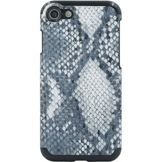 Candywirez Vegan Leather Case iPhone 7 in Snake Grey/White