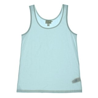 Pure DKNY Womens Solid Sleeveless Tank Top - M
