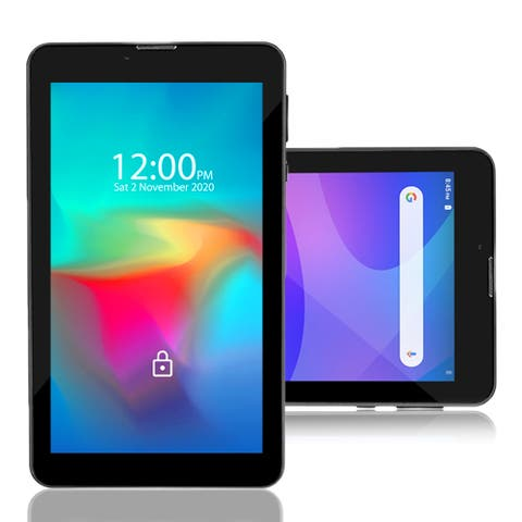 Indigi 4G LTE GSM Unlocked 7-inch Android Pie Tablet and SmartPhone (QuadCore (2GB RAM + 16GB ROM) + 2SIM) + 32gb microSD