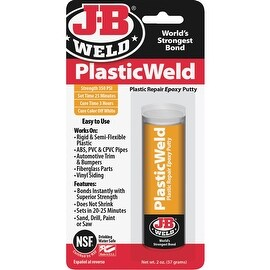 JB Weld 2Oz Plasticweld Epoxy