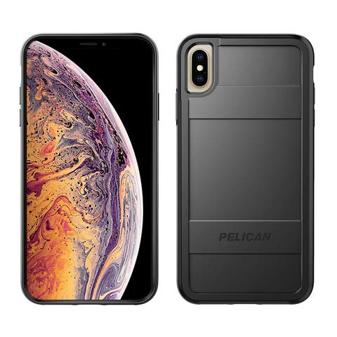 Pelican Protector Dual Layer Rugged Protection for iPhone Xs Max Case - Black