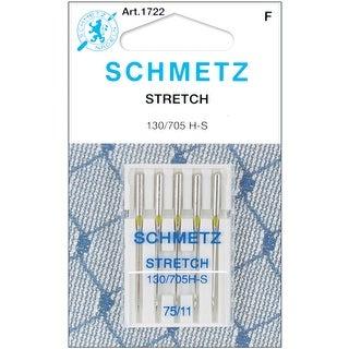 Stretch Machine Needles-Size 11/75 5/Pkg - size 11/75 5/pkg