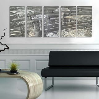 Statements2000 Tropical Metal Wall Art Beach Ocean Jellyfish Painting Decor by Jon Allen - Sting