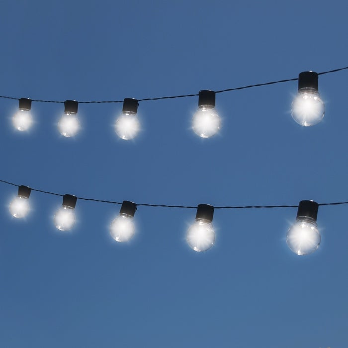 Shop Nitebulbs Solar Patio String Lights Edison Style 10