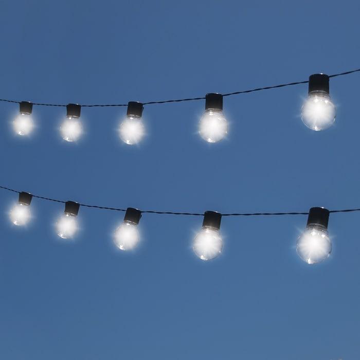 buy popular 9f839 ff5eb Solar Edison Style String Lights 10 Bulbs