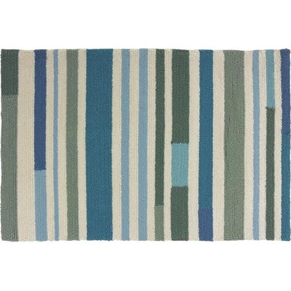 Homefires Rugs Pp Pb062b Sea Breeze Stripes Area Rug 22 X 34 In Free Shipping Today Com 26000256
