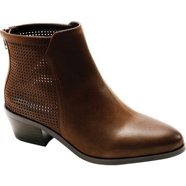 3ab7c374bc15e Shop David Tate Women s Kaci Ankle Boot Brown Brushed Nubuck - Free ...