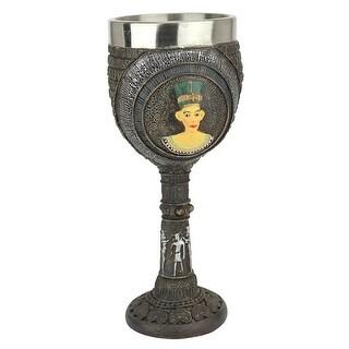 Design Toscano Egyptian Deities Sculptural Royal Goblet