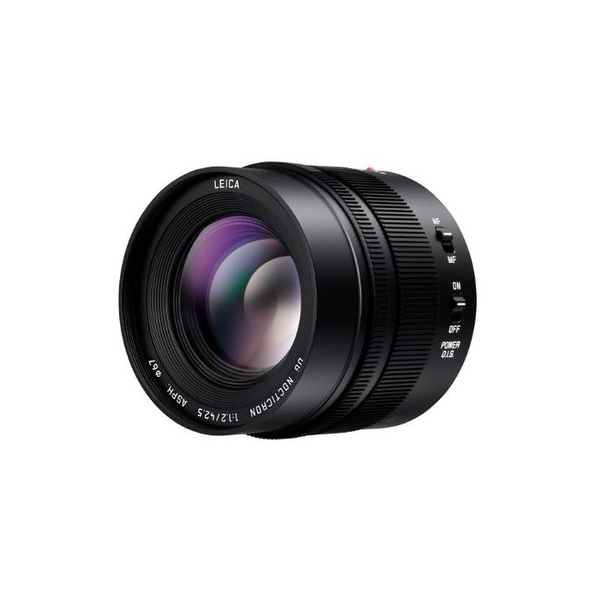 Panasonic LUMIX G Leica DG Nocticron 42.5mm f/1.2 ASPH Power OIS Lens - black
